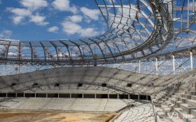 В России начал рушиться стадион, построенный к ЧМ-2018: опубликованы фото