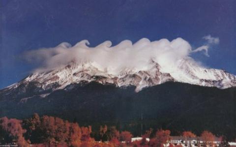 Волноподобные облака Кельвина-Гельмгольца (17 фото) (16)