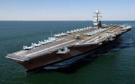 Авианосная группа США подошла к берегам КНДР
