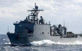 В Черное море срочно зашли четыре корабля НАТО