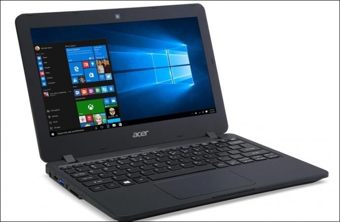 Компания Acer анонсировала ноутбук TravelMate B117