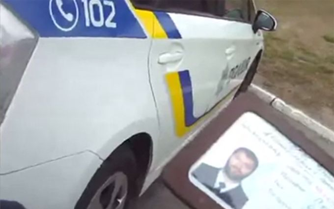Вбийство в Дніпрі: з'явилося відео з камери загиблого поліцейського