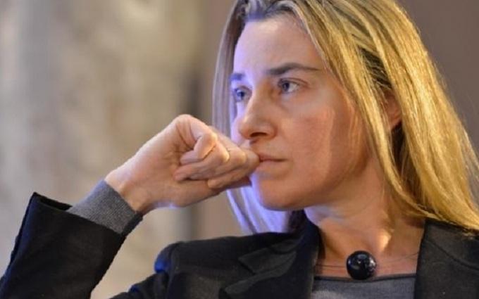 Федеріка Могеріні розплакалася, говорячи про теракти в Брюсселі: з'явилося відео