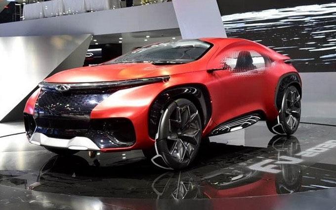 Китайцы показали автомобиль будущего: опубликовано фото