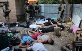 """В Кропивницком задержаны 27 вооруженных участников криминальной """"сходки"""": опубликовано видео"""