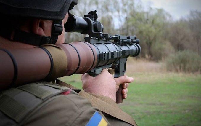 Украинская Нацгвардия получила первые гранатометы с США: появились впечатляющие фото