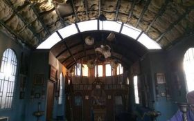 Підпал української церкви на Донбасі: священик розповів подробиці