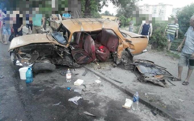 Масштабна ДТП з п'яним водієм відбулося в Кіровограді: з'явилися фото