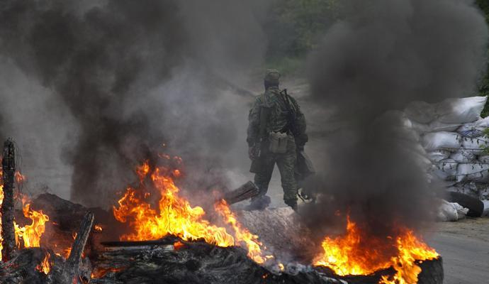 Сегодня 45 раз боевики обстреливали позиции АТО