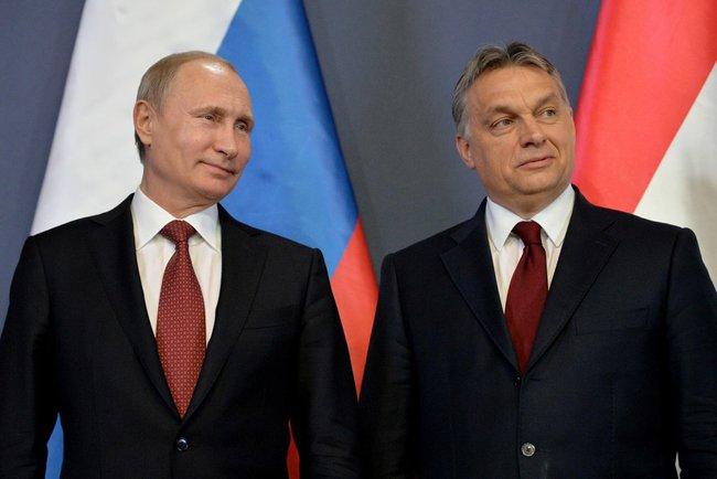 Путин проведет в Москве встречу с премьер-министром Венгрии