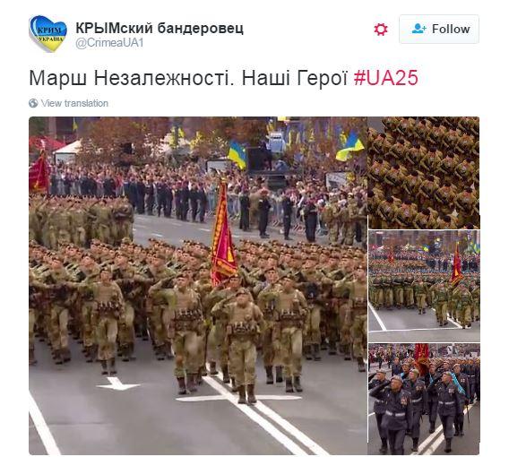 Сльози гордості: соцмережі закипіли захопленими відгуками про парад у Києві (1)