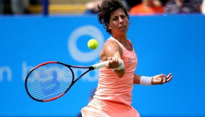Бухарест (WTA). Суарес-Наварро и Александрова вышли во второй раунд