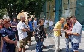 """Скандал с харьковским отделением """"Батькивщины"""" взорвал соцсети: появились фото и видео"""
