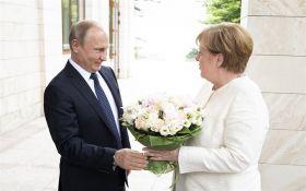 Зустріч Путіна та Меркель: відомі подробиці розмови політиків про війну в Україні