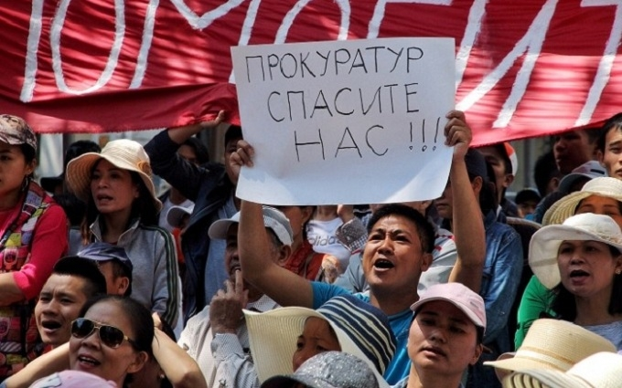 """В Одесі в'єтнамці вийшли на """"Майдан"""": з'явилися відео та фото"""