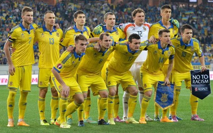 Названа расширенная заявка сборной Украины на Евро-2016