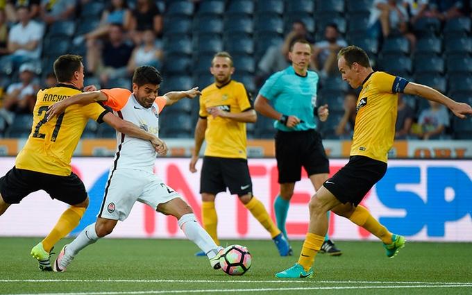 Янг Бойз - Шахтар - 6-2: відео огляд матчу і серії пенальті