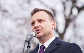 """""""Завтра може померти Дуда"""": в Польщі невідомі готують замах на президента"""