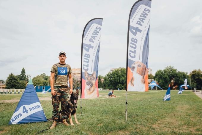 Четырехлапые офицеры: служебные собаки со всей Украины съехались в Днепр (6)