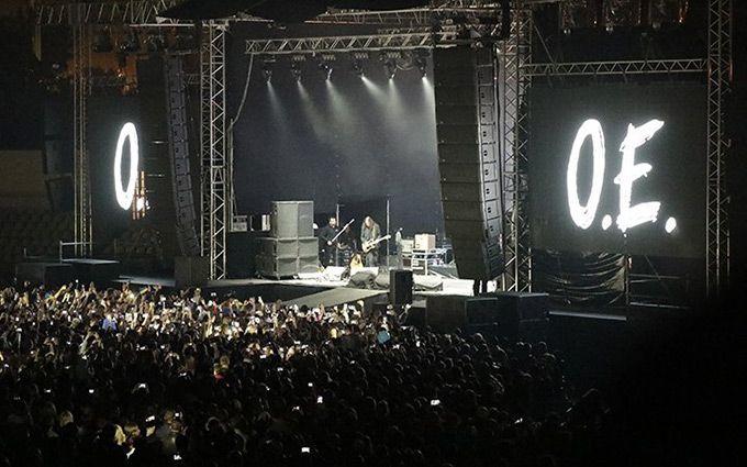 """""""Океан Ельзи"""" зіграв концерт на Донбасі: з'явилися яскраві фото та відео"""