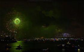 Світ продовжує зустрічати Новий рік: з'явилися яскраві відео феєрверків