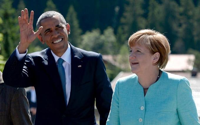 ЗМІ дізналися про розмолвку Меркель та Обами через Донбас