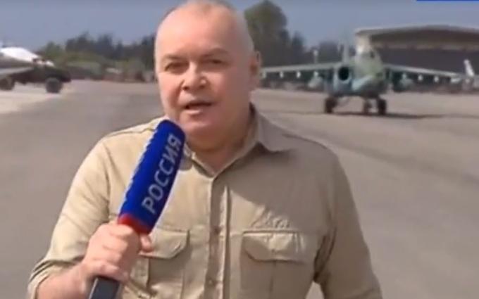 Соцсети поразил сюжет пропагандиста Путина о выходе из Сирии: опубликовано видео