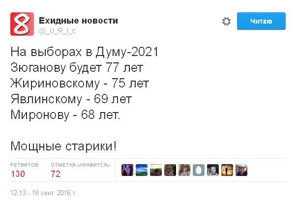 Ніколи такого не було, і знову: соцмережі киплять через результати виборів у Росії (5)