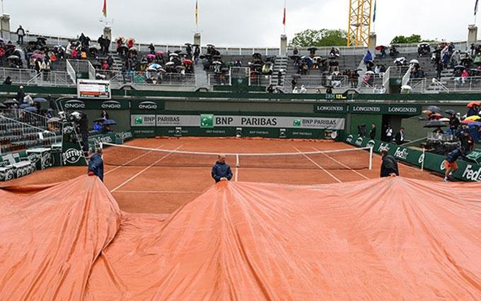 На Roland Garros уперше за 16 років скасовані всі матчі