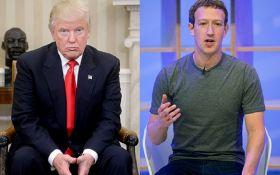 Основатель Facebook Марк Цукерберг ответил на обвинения Трампа