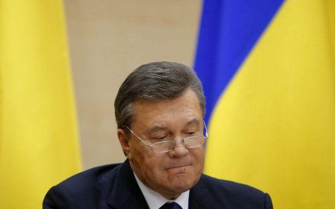 Януковичу оголосили про підозру в силовому захопленні влади в Україні