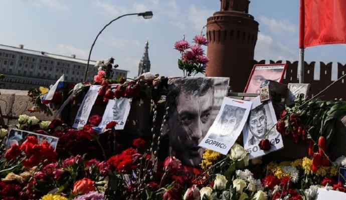В Москве снова осквернили мемориал Бориса Немцова