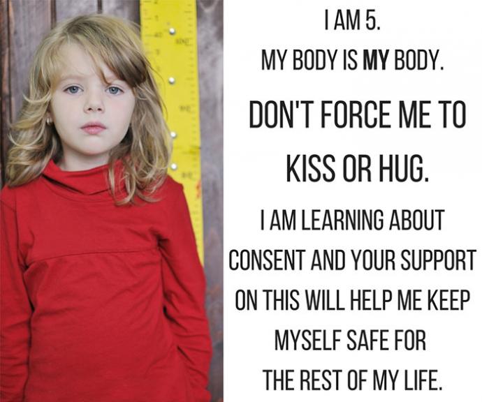 Можно ли обнимать ребенка, если он против: в сети набирает популярности новый мем (2)