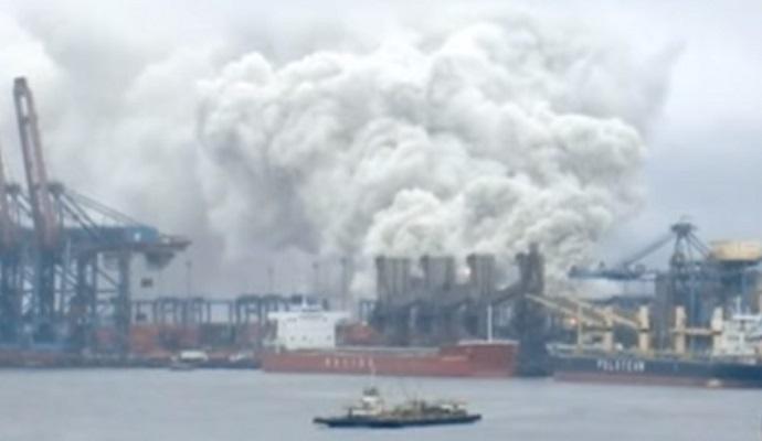 Унаслідок вибуху на складі в Бразилії був випущений токсичний газ