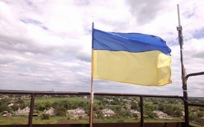 """Українські військові """"передали привіт"""" прихильникам ДНР на Донбасі: з'явилося фото"""