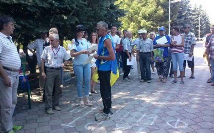 """""""Провокація СБУ"""": на Донбасі спортсмен поплатився за виступ проти ЛНР, з'явилося відео"""