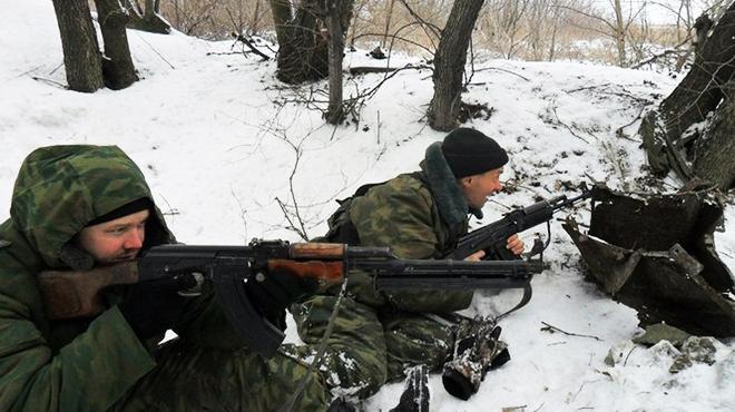 За прошлые сутки боевики 40 раз обстреливали позиции сил АТО (видео)