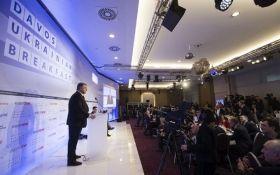 На форумі в Давосі журналістка росЗМІ намагалася спровокувати Порошенка