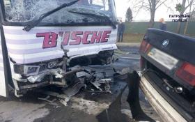 В Волынской области BMW разбился вдребезги, четверо погибших: опубликовано фото