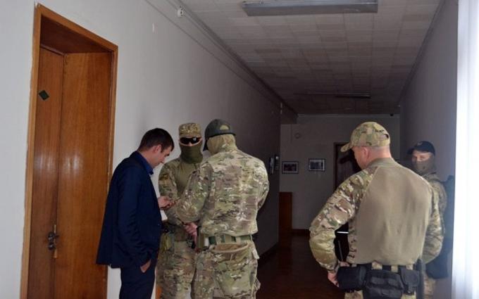 В Одесі обшукують кабінет соратника Саакашвілі: з'явилися фото і відео