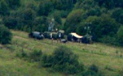 Військову техніку Росії засікли на кордоні з Харківщиною: опубліковані фото (1)