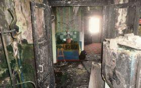 В Луганской области мужчина поджег дома соседей, после чего покончил с собой