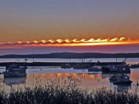 Волноподобные облака Кельвина-Гельмгольца (17 фото) (3)