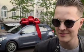Соліст O.Torvald подарував дружині автомобіль за сина