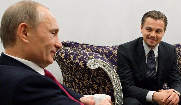 Весной 2017 года выйдет фильм, где Ди Каприо сыграет Путина