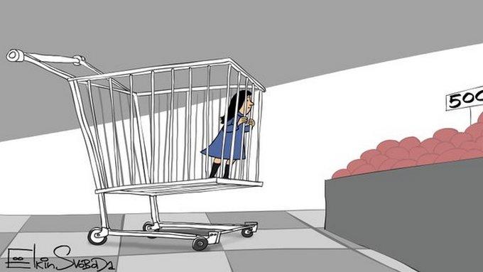 Известный карикатурист высмеял цены в России (1)