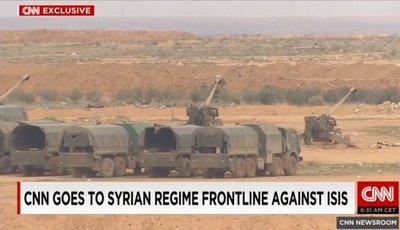 Журналисты случайно засняли российские войска во время наземной операции в Сирии (6)