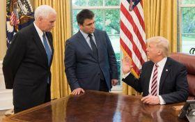Стали известны детали встречи Климкина и Трампа