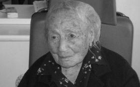 На 117-му році життя померла найстаріша жінка Європи