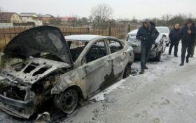 Підпали авто під Києвом: з'явилися нові подробиці